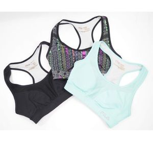 3 Fila sport bra bundle Small